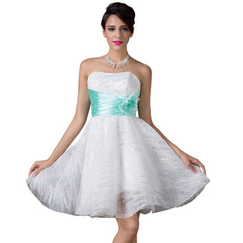 2015 New Fashion Princess Bandage Runway Tutu Dress Lolita Cute Gauze Lace Prom Dresses Peplum Sexy Party Dresses Women CL6211 - BRIDESMAID DRESSES BRIDAL GOWNS PROM
