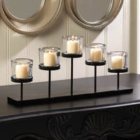 Pedestal Candle Holder Centerpiece