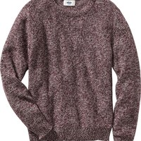 Old Navy Boys Marled Crew Neck Sweater