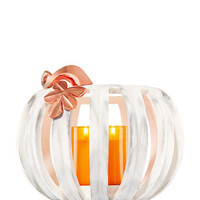 MARBLE-INSPIRED PUMPKIN LUMINARY3-Wick Candle Sleeve