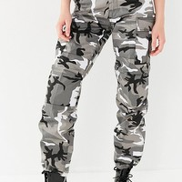 Vintage Black + White Camo Pant | Urban Outfitters