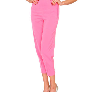 One And Only Trouser Pants - Pink