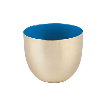 Argos Round Votive Gold,Royal Blue