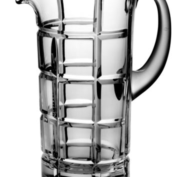 Majestic Gifts BL-161 Hand Cut Crystal 50 oz. Pitcher