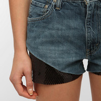Urban Renewal Sequin Denim Short