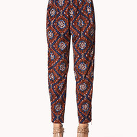 Ikat Satin Trousers | FOREVER 21 - 2060562191