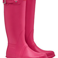 HUNTER ORIGINAL TALL BRIGHT PINK WELLINGTON BOOTS  Welly PINK NWT BN
