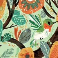 """Hummingbird"" - Art Print by Meg Hunt"