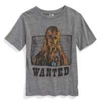 Boy's Junk Food 'Star Wars - Wanted: Chewbacca' Graphic T-Shirt,