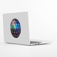 Space Geodesic Laptop Skin