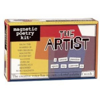 Magnetic Poetry Kit: The Artist