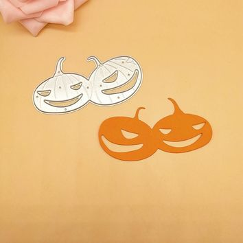 Halloween Pumpkin Metal Cutting die Punch cutter knife for Clear stamp Scrappbooking DIY Paper Cards Make DIE