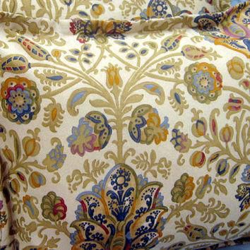 "MARRAKESH PAISLEY (1) - Ralph Lauren Fabric - Custom Made Pillow Cover / sham- 18"" x 1"