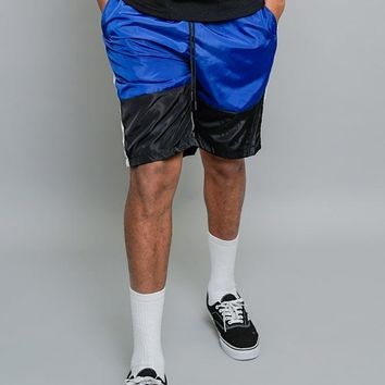 Tri Colored Windbreaker Shorts JS24 - A4C