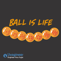DRAGONBALL BALL IS LIFE T SHIRT