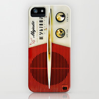 Classic Old Vintage Retro Majestic radio apple iPhone 3, 4 4s, 5 5s 5c, iPod & samsung galaxy s4 case cover