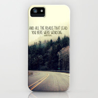 WINDING ROADS ON HWY 101  iPhone Case by Tara Yarte