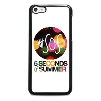 5 seconds of summer 5 5sos iphone 5c case cover  number 1