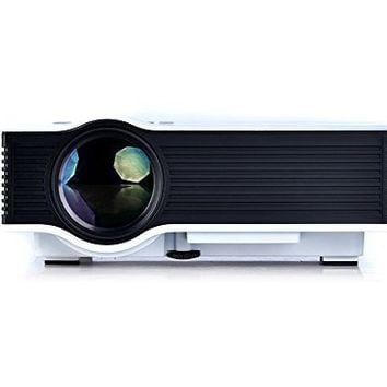"""Generic UC40 Updated Full Color 130"""" Image Pro Mini Portable LCD LED Home Theater Cinema Game Projector - Support HD 1080P Video / 800 Lumens IP/IR/USB/SD/HDMI"""