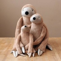 Big Sloth Stuffed Animal Toy For Children