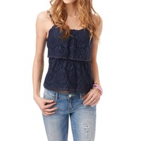 Two Tier Lace Cami - Aeropostale