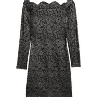 Lace Off-the-shoulder Dress - from H&M