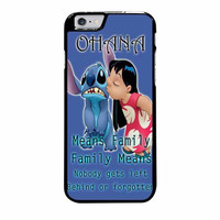 ohana means family lilo and stitch disney iphone 6 plus 6s plus 4 4s 5 5s 5c 6 6s cases