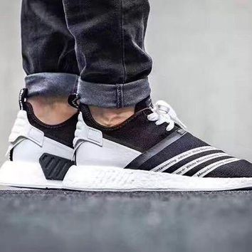 LMFON Ready Stock' Adidas White Mountaineering NMD R2 Boots Men Women Running Sneaker CG3648
