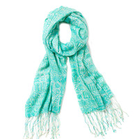 Lilly Pulitzer Pisces Horoscope Murfee Scarf