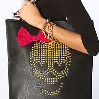 Betsey Johnson  The Skull Candy Tote Bag in Black : Karmaloop.com - Global Concrete Culture