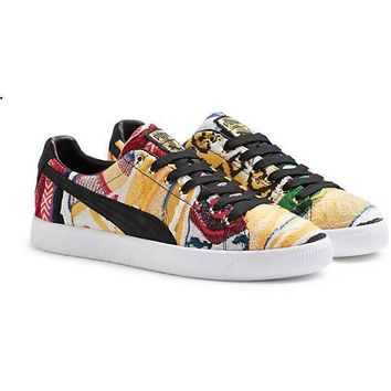 spbest PUMA X COOGI CLYDE SNEAKERS
