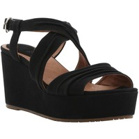Bertie Golder Cross Strap Flatform Wedged Sandals