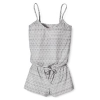 Xhilaration® Juniors' Romper - Assorted Colors