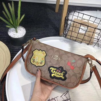 Coach Fashion Leather Shoulder Bag