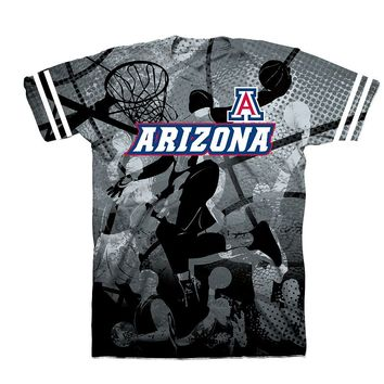 Arizona Wildcats Sublimated Top - Boys