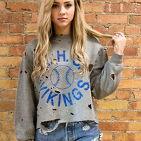 Vikings Destroyed Pullover