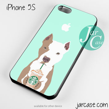 i love starbucks dog 4 Phone case for iPhone 4/4s/5/5c/5s/6/6 plus