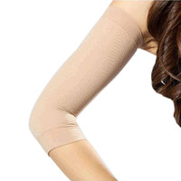 2 PCS Weight Loss Calories off Slim Slimming Arm Shaper Massager Lose Fat Buster Flesh Color