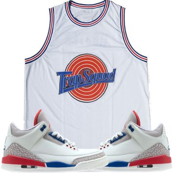 Jordan 3 International Flight Basketball Jersey - TRAP