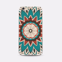 Squash Blossom Mandala Boho Case for IPhone 6plus 6s Plus