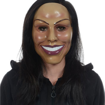 Smiling Woman Mask – Spirit Halloween
