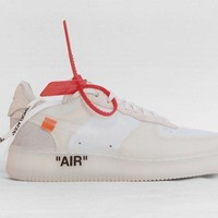 Nike x Off White Air Force 1 - UK 7 - Virgil Abloh Limited Pairs
