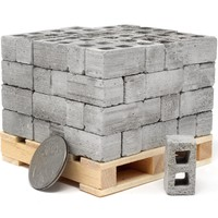 1:18 Scale Mini Cinder Blocks (72pk + Pallet)