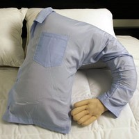 Boyfriend Pillow, Blue Shirt