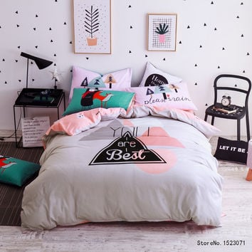 You are the Best Bedding Set