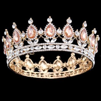 """Gabriella"" Gold European Princess Crown"