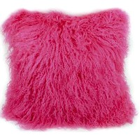 Mongolian Pillow Fushia - Pillows - Accessories
