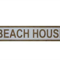 "42""L x 8-1/4"" H MDF ""Beach House"" Wall Decor"