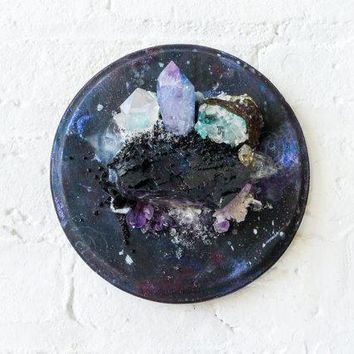 Galactic Super Nova Crystal Explosion   Bouquet Of Geological Specimens   Unique Home Decor   Space Cadet   Rare Earth Metaphysical Gems