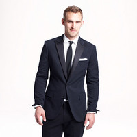 Ludlow tuxedo jacket in Japanese seersucker - black tie - Men - J.Crew